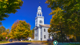 Benninbgton-Vermont-Church-Foliage