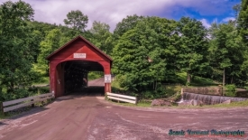 Green River Covered Bridge.