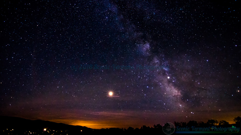 The Milky Way from Stowe