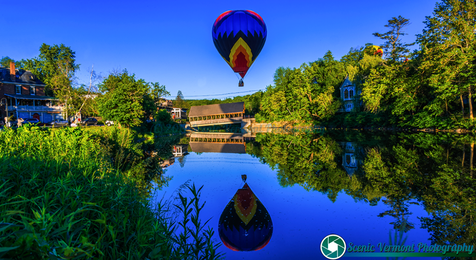 Friday at the Quechee Hot air Balloon Festival