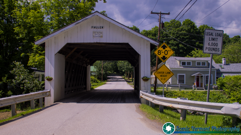 The Fuller Covered Bridge in Montgomery