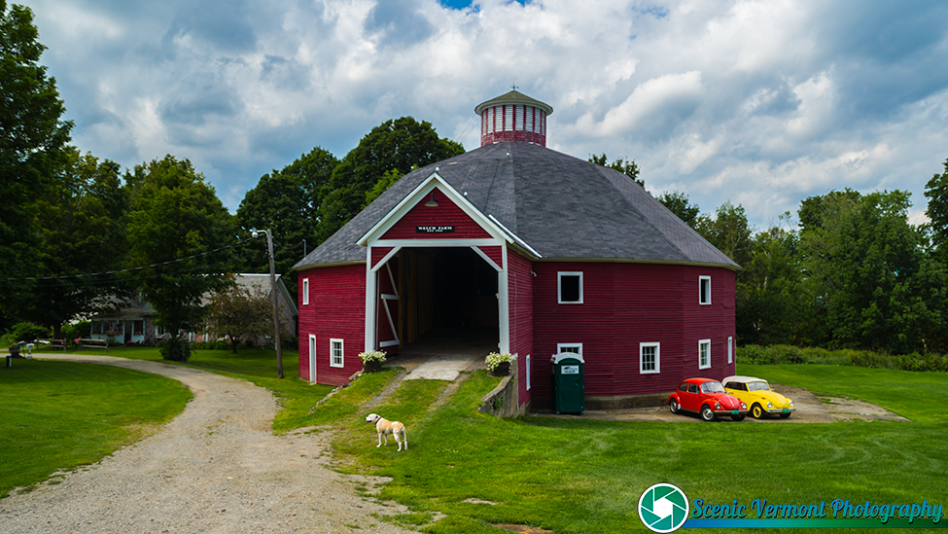 Welch Farm Round Barn in Morristown